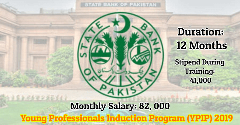SBP Young Professionals Induction Program (YPIP) 2019