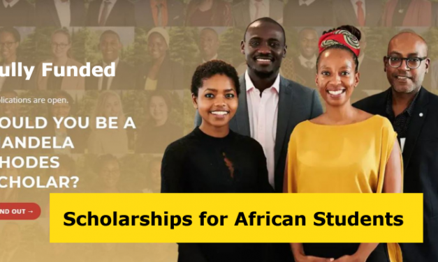 Mandela Rhodes Scholarship for African Students 2021 – Fully Funded