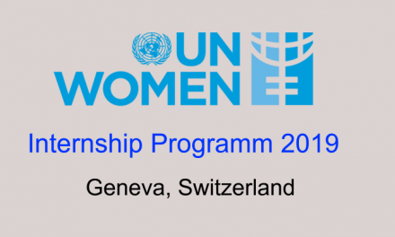 UN Women Internship Programme 2019 in Geneva, Switzerland