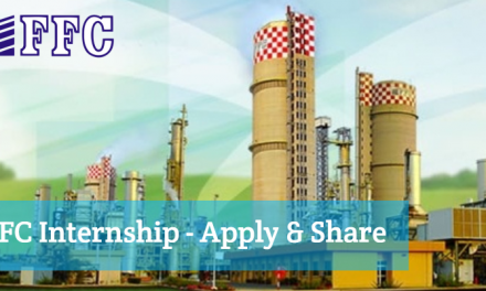 FFC Internship 2019 for Pakistani Students – Paid Internship