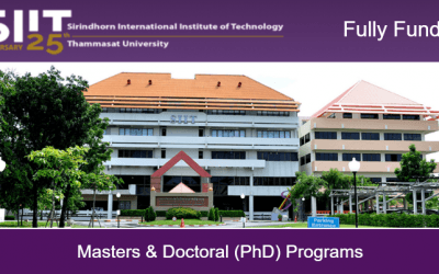 SIIT Scholarship 2020 in Thailand [Fully Funded Scholarship]