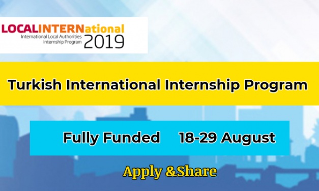 Turkish Internship Program 2019 by Union of Municipalities of Turkey – Fully Funded