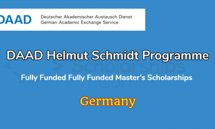 DAAD Helmut Schmidt Programme 2021 in Germany – Fully Funded