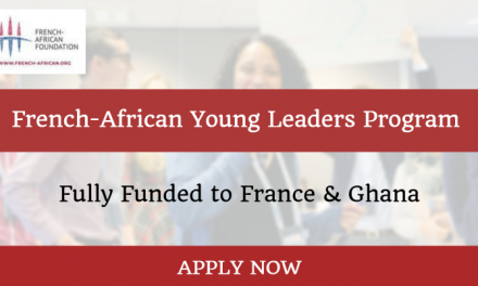 French-African Young Leaders Program 2019 – Fully Funded