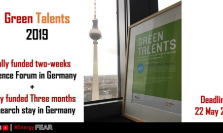 Green Talents Competition 2019 By German Government – Fully Funded