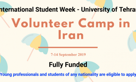 International Volunteer Camp in Iran 2019 [Fully Funded]