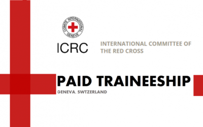 ICRC Traineeship Program 2019 in Geneva, Switzerland – Paid traineeship