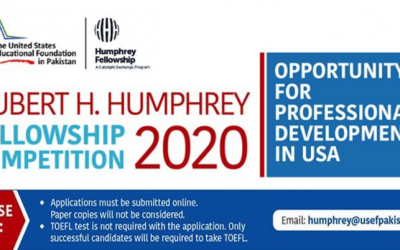 Hubert H. Humphrey Fellowship 2020 in the United States – Fully Funded