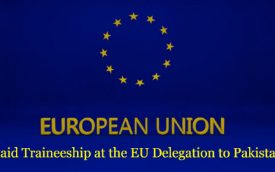 European Union Traineeship Program 2019 for the Young Graduates of Pakistan