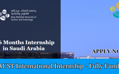 KAUST International Internship 2019 in Saudi Arabia – Fully Funded
