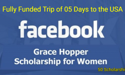 Facebook Grace Hopper Scholarship 2019 in Florida, USA – FULLY FUNDED