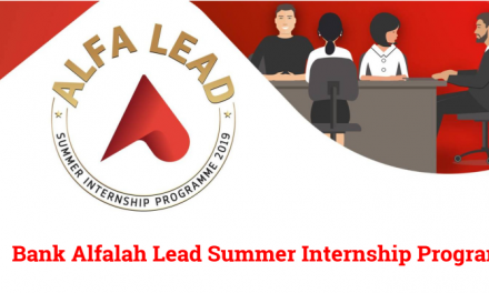 Bank Alfalah's Alfa Lead Summer Internship Programme 2019