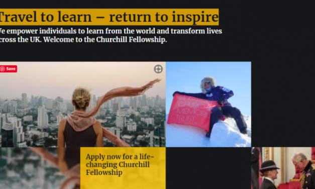 Churchill Fellowship 2020 for UK Citizens (Travel to Learn – Return to Inspire)