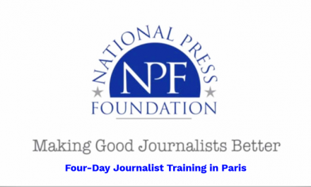 Paris Accords of Science Communication 2019 for Journalists in the EU & USA [Fully Funded]