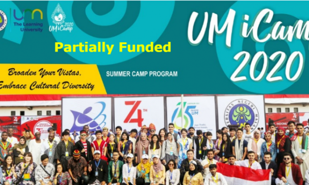 UM iCamp 2020 – Summer Camp Program in Indonesia [Partially Funded]