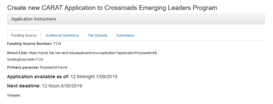 How to Apply for Crossroads Emerging Leaders Program