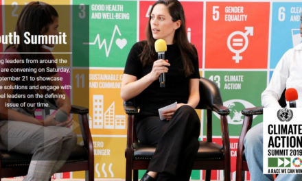 UN Youth Climate Summit 2019 at the UN Headquarters in New York