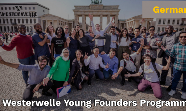 Westerwelle Young Founders Programme 2019 [Fully Funded to Berlin, Germany]