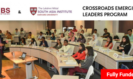Harvard University Crossroads Emerging Leaders Program 2019-20 [Fully Funded]