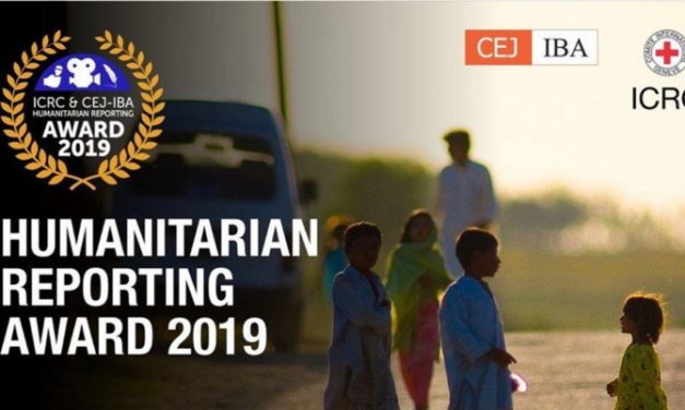 ICRC CEJ Humanitarian Reporting Award 2019 for Pakistani Journalists