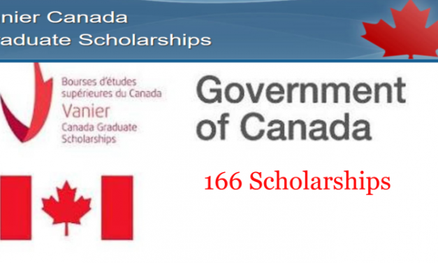 Vanier Canada Graduate Scholarship 2020 by Canadian Government