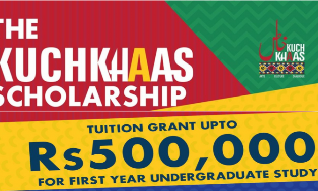 Kuch Khaas Scholarship 2019 for Pakistani Students