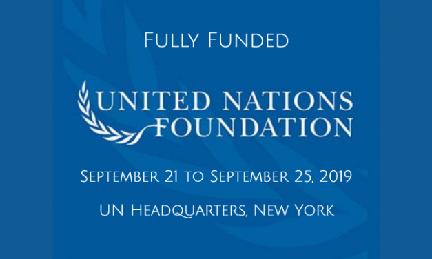 United Nations Foundation Fellowship 2019 in New York, USA [Fully Funded]