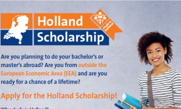 Holland Scholarship 2020-2021 in the Netherlands