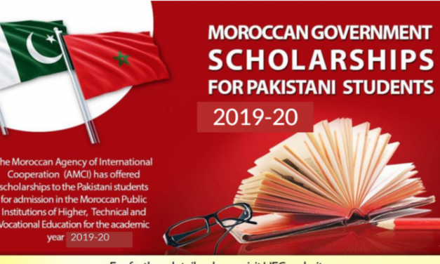 Moroccan Government Scholarships for Pakistani Student 2019-20