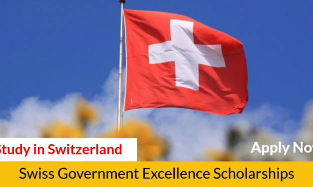 Swiss Government Excellence Scholarships 2020-2021 – Study in Switzerland