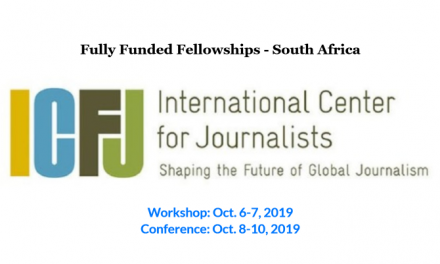 Fully Funded Fellowship for Journalists in Durban, South Africa