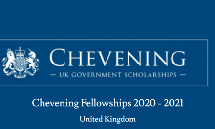 Chevening Fellowships 2020-2021 in the UK –  Fully Funded