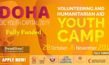 Doha Youth Camp 2019 for Voluntary and Humanitarian Work – Fully Funded