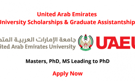 United Arab Emirates University Scholarships 2020