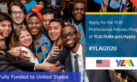 YLAI Professional Fellows Program 2020 in the USA by U.S. Government