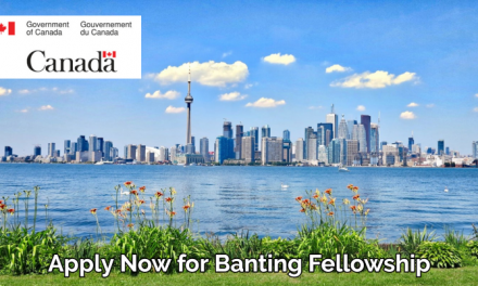 Banting Fellowship 2020 by Government of Canada – Fully Funded