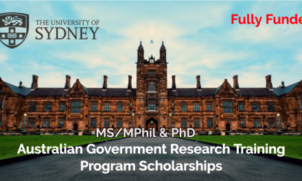 Australian Government Research Training Program Scholarships 2020