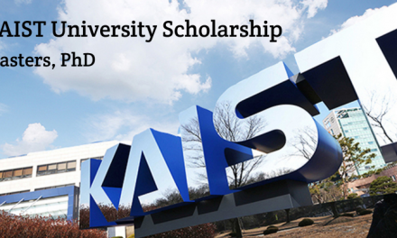 KAIST University Scholarship South Korea Spring 2020 – MS & PhD