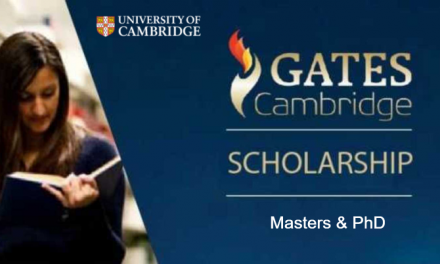 Gates Cambridge Scholarship 2020 in the UK for Masters & PhD