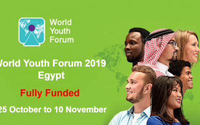 World Youth Forum 2019 in Egypt for Two Weeks – Fully Funded