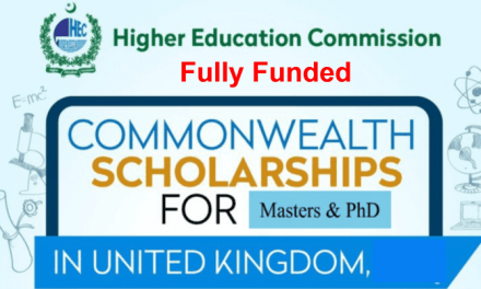HEC Commonwealth Scholarships 2020 in the UK [Fully Funded]