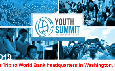 World Bank Youth Summit 2019 (Win Trip to World Bank headquarters in Washington, DC)