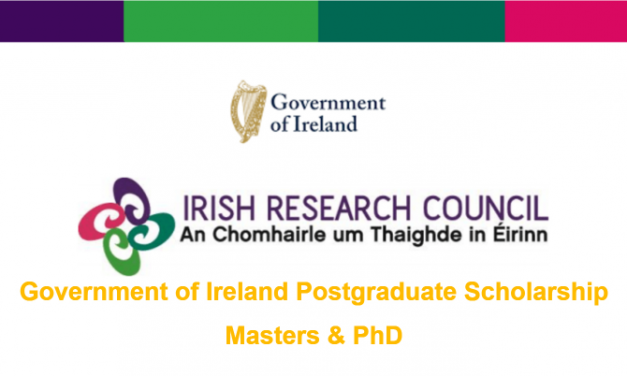 Government of Ireland Postgraduate Scholarship 2020 – Ireland Government Scholarship
