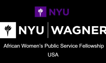 African Women's Fellowship 2020 at New York University, USA