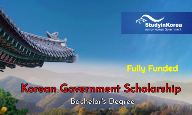 Korean Government Scholarship 2020 for Undergraduate Students [Fully Funded]
