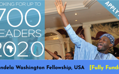 Mandela Washington Fellowship for Young African Leaders in the USA [Fully Funded]
