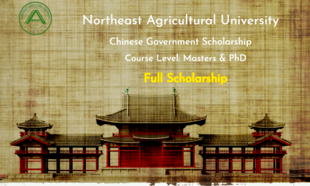 Northeast Agricultural University Scholarship in China  [Full Scholarship]