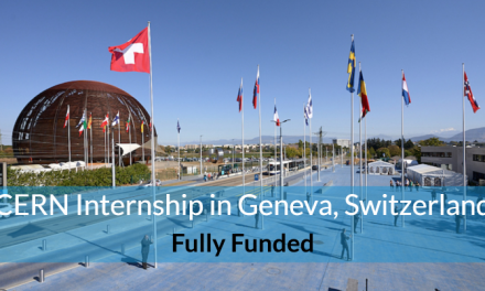 Fully Funded Internship in Switzerland 2020 for Doctoral Students
