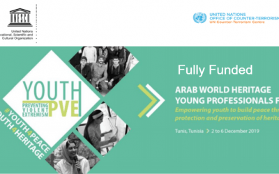 UNESCO Arab World Heritage Professionals Forum 2019 in Tunis, Tunisia – Fully Funded