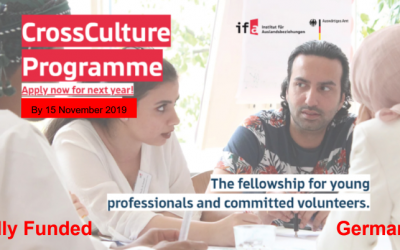 CrossCulture Program 2020 in Germnay – Fully Funded CCP Fellowship 2020
